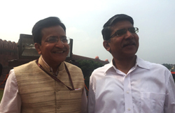 Independence Day 2015, Red Fort, with Avinash Shrivastava